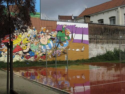 Ruta del Cómic en Bruselas: diversión y color