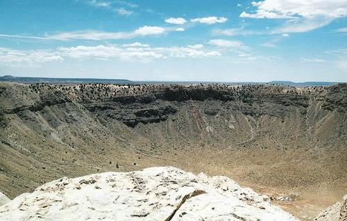 El Cráter Barringer en Arizona, la huella de un meteorito