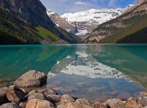 El Lago Louise en Alberta, Canadá