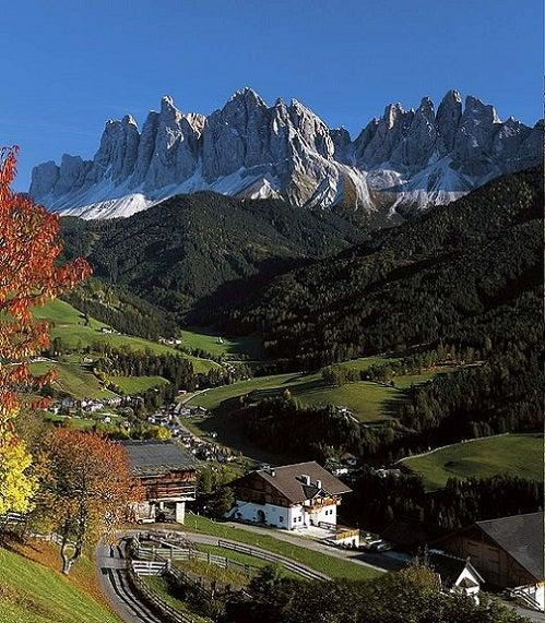 El Valle Isarco en la Provincia de Bolzano