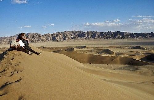 El desierto de Lut, el punto más caliente del planeta