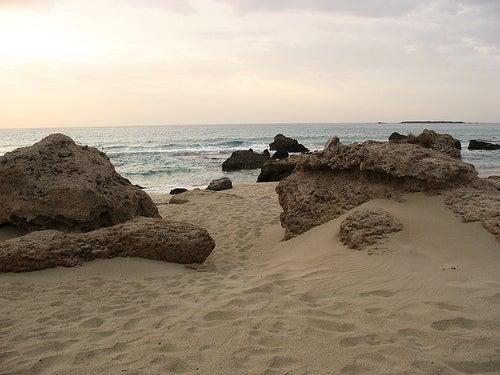Las playas de Falassarna, una joya de la costa de Creta