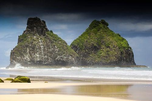 Fernando de Noronha, lugar de descanso en la costa de Brasil