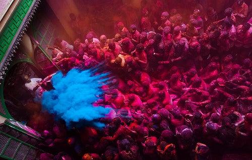 El Festival de Holi: el más colorido del mundo