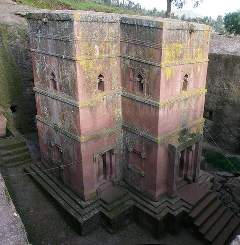 Iglesias de Lalibela San Jorge