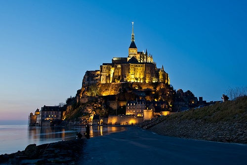El Monte Saint Michel en Francia