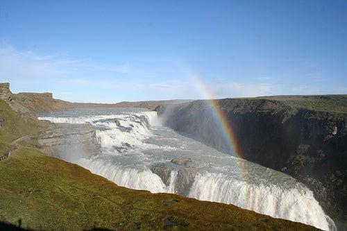 La cascada de Gullfoss, la cascada dorada