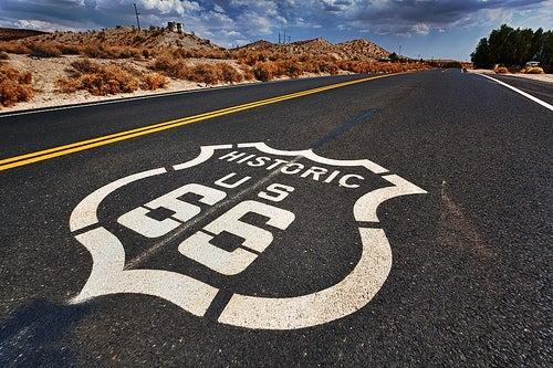 La mítica Ruta 66 de Estados Unidos
