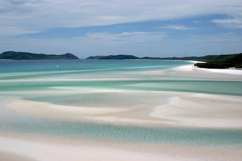 La playa Whitehaven, un paraíso de extensas arenas blancas