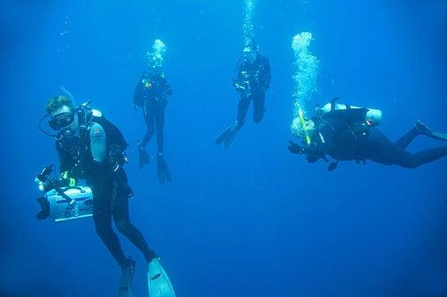 La práctica del submarinismo en Coiba