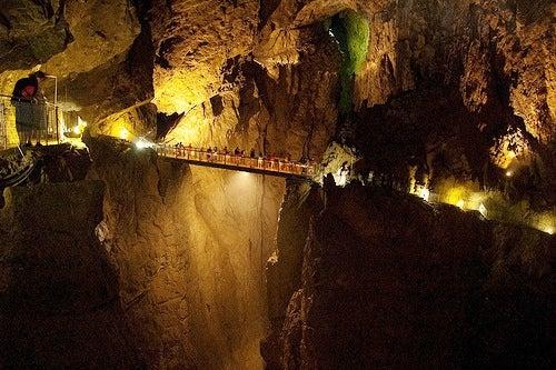 Las Grutas de Skocjan, un increíble espectáculo subterráneo