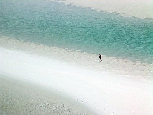Las arenas de la playa de Whitehaven