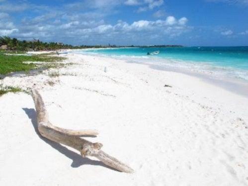 Playas tranquilas en el Caribe mexicano