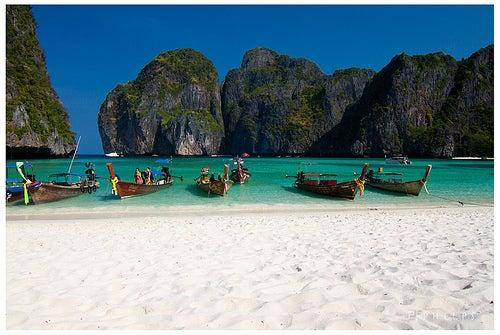 Maya Bay en Tailandia, una playa de película