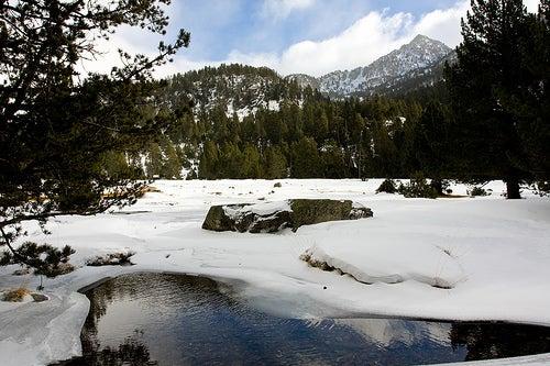 Valle de Boi nevado. por Federico