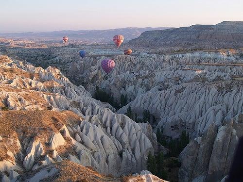 Capadocia en Turquía, un paisaje encantado
