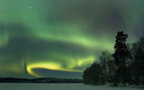 Finnmark en Noruega, es tierra de nieve, mares y cielos