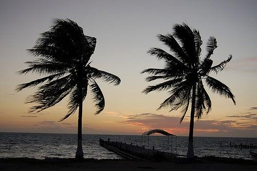 Amanecer en Punta Allen