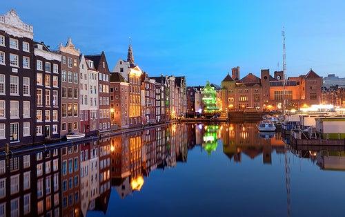La ciudad de Ámsterdam y sus maravillosos canales