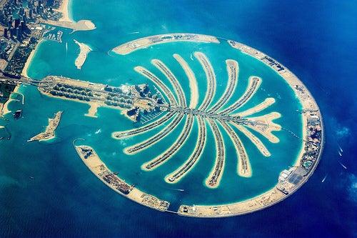 Las Islas Palmera de Dubái, un lugar donde reina el lujo