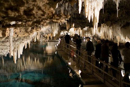 Crystal Cave y Fantasy Cave, las cuevas cristalinas de las Bermudas