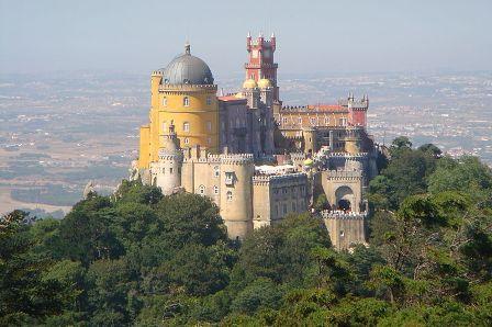 El Romántico Palacio de la Peña en un bucólico paraje portugués