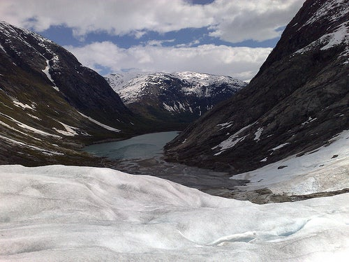 El glaciar Jostedalsbreen, el más grande de Europa continental