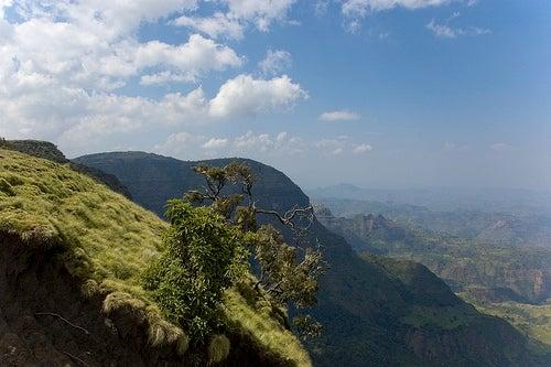 El Parque Nacional de Simien, Etiopía