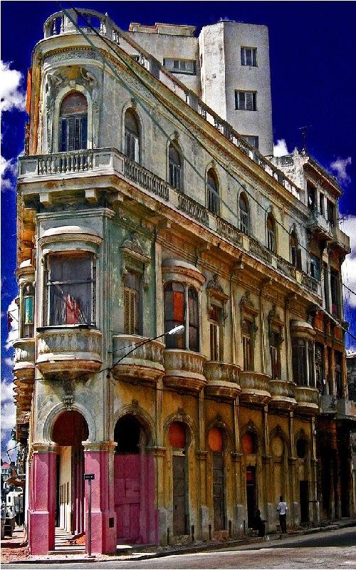El aire de la Habana Vieja