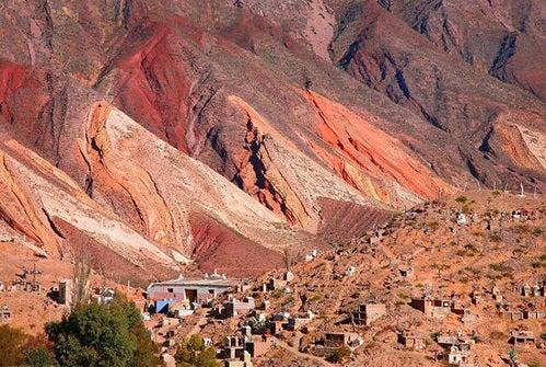 La Quebrada de Humahuaca en Argentina, un paisaje multicolor