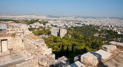La Plaza Sintagma y el Estadio Panatenaico, el cambio de Atenas