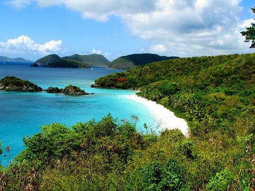 La isla St. John, Islas Vírgenes de Estados Unidos