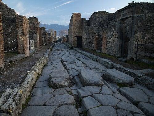 La ciudad de Pompeya resurge de las cenizas del Vesubio