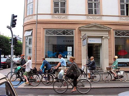 Vamos a recorrer Copenhague en bicicleta