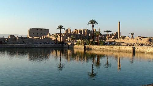 los majestuosos templos de egipto reflejo de la antigua civilización