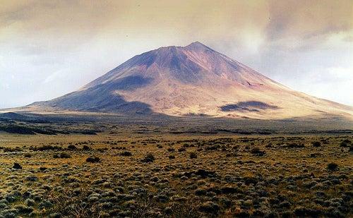 Desierto negro de Payunia