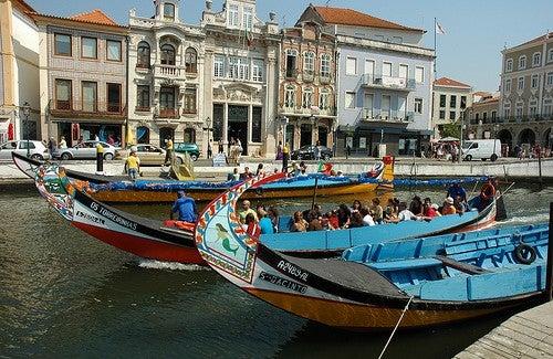 La ciudad de Aveiro, la Venecia portuguesa