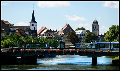 La ciudad francesa de Estrasburgo, ciudad moderna y dinámica
