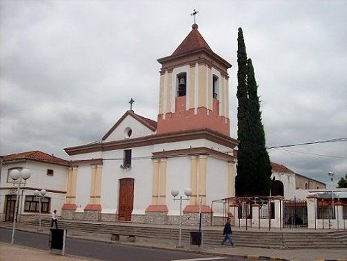 La ciudad de Cosquín, Córdoba, Argentina