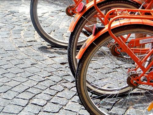 Pasear en bicicleta por la ciudad de Buenos Aires