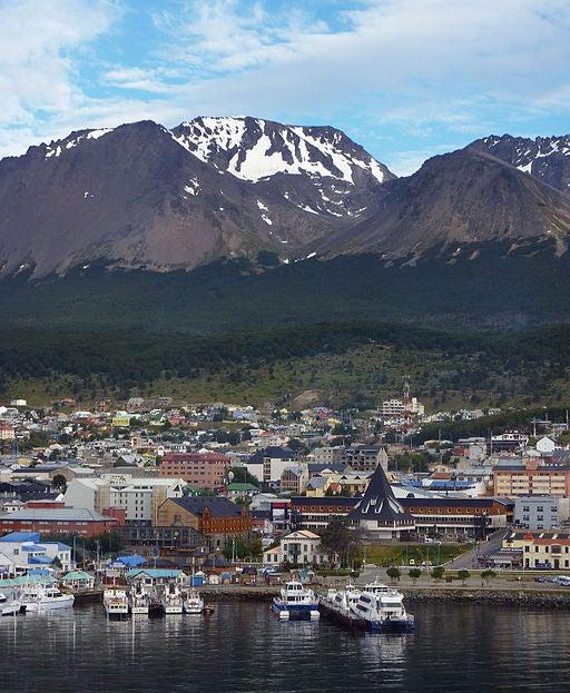 Ushuaia, una ciudad hermosa.