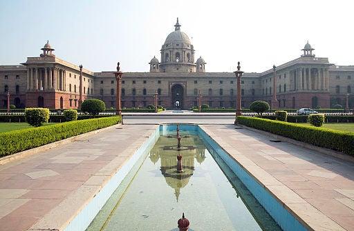 Nueva Delhi y sus hermosos monumentos.