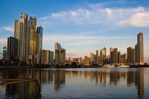 La hermosa Ciudad de Panamá.