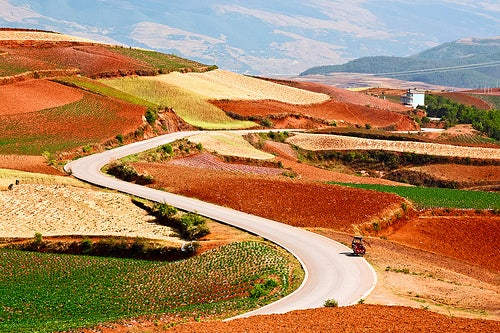 Conoce el increíble paisaje de Dongchuan Red Land