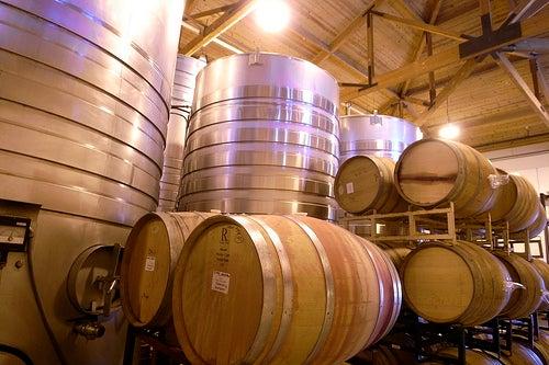 Ruta de los vinos en California_