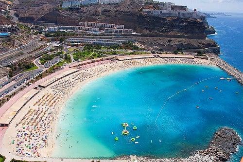 Cuatro bonitas playas de Gran Canaria