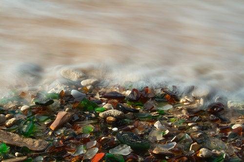 playa de cristal