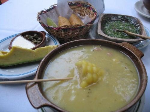 Gastronomía colombiana: el ajiaco