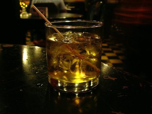 Bebidas alcohólicas durante un viaje