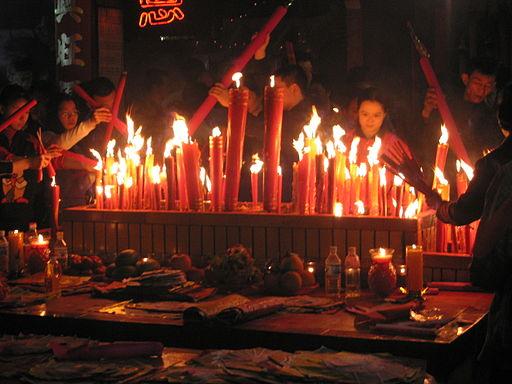 La Fiesta de las Linternas, en China.